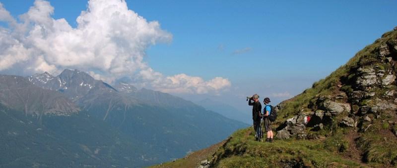 Foto Bergsicht