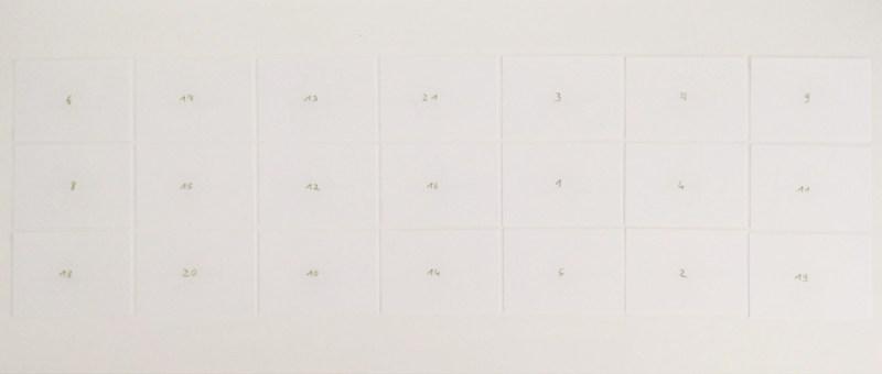Foto Der minimalistische Adventskalender