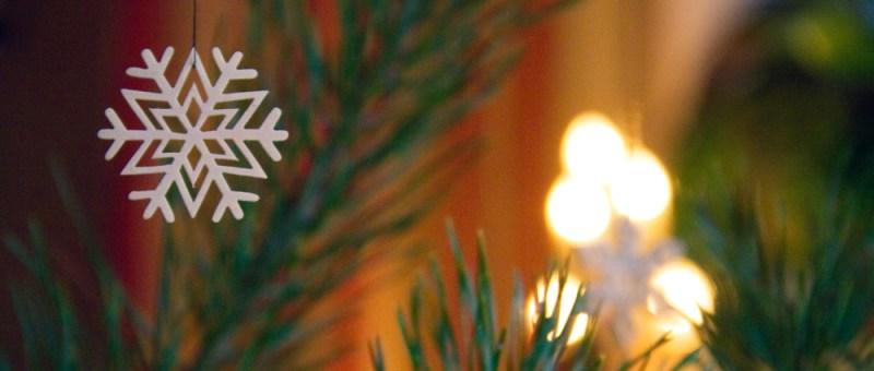 Foto Weihnachtsschmuck aus Holz