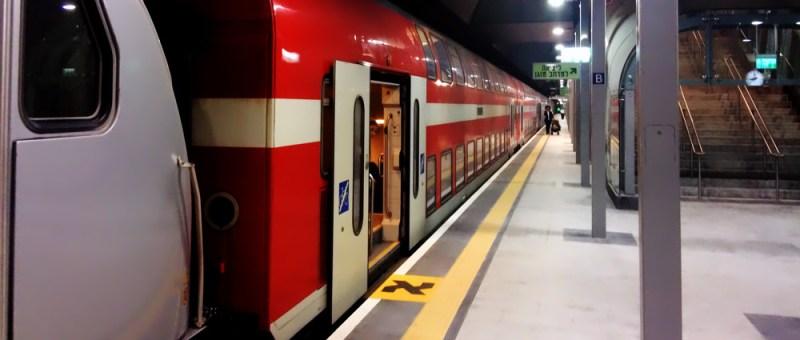 Foto Deutscher Zug in Israel