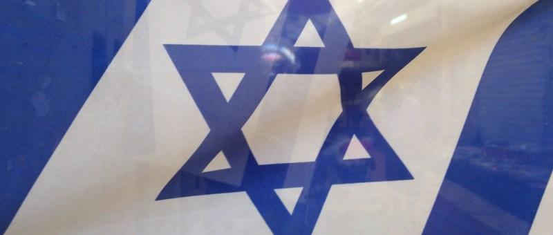 Foto Israelische Flagge