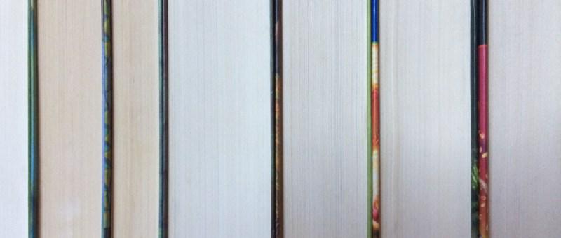 Foto Sieben Bücher