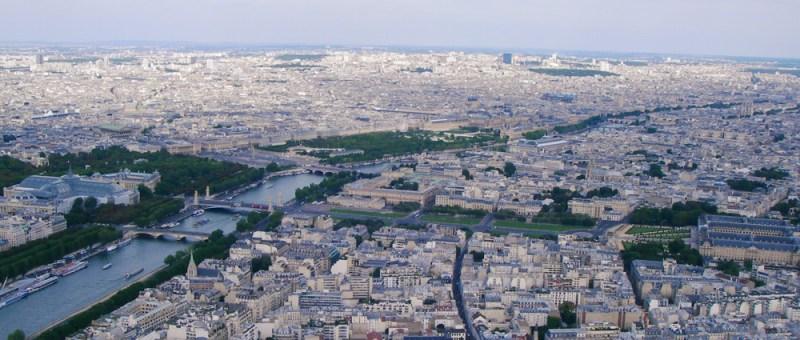 Foto Stadtblick Paris