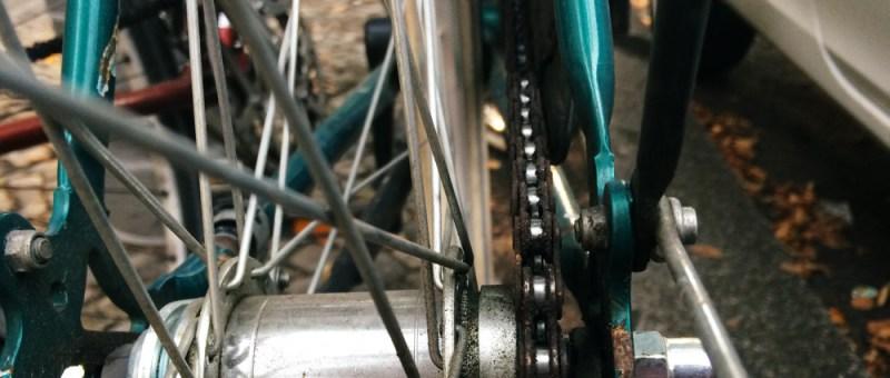 Foto Fahrradkette