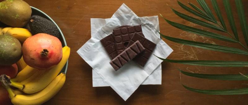 Foto Schokoladenarrangement