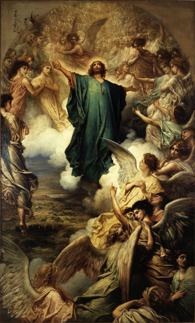 Wniebowstąpienie Pana Jezusa Tajemnica chwalebna różańca świętego
