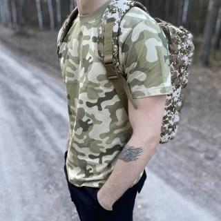 pustynna koszulka wojskowa