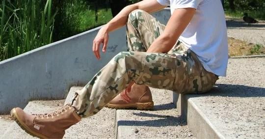 spodnie wojskowe pustynne wojskowystyl