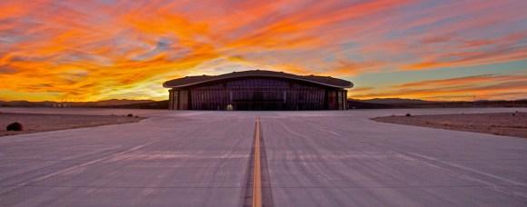 Spaceport America Sunset