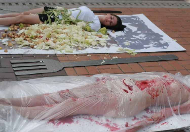 Vegetarian and vegan activism