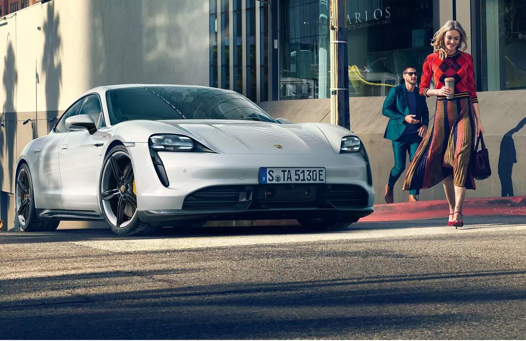 Taycan: el Porsche eléctrico con Apple Music