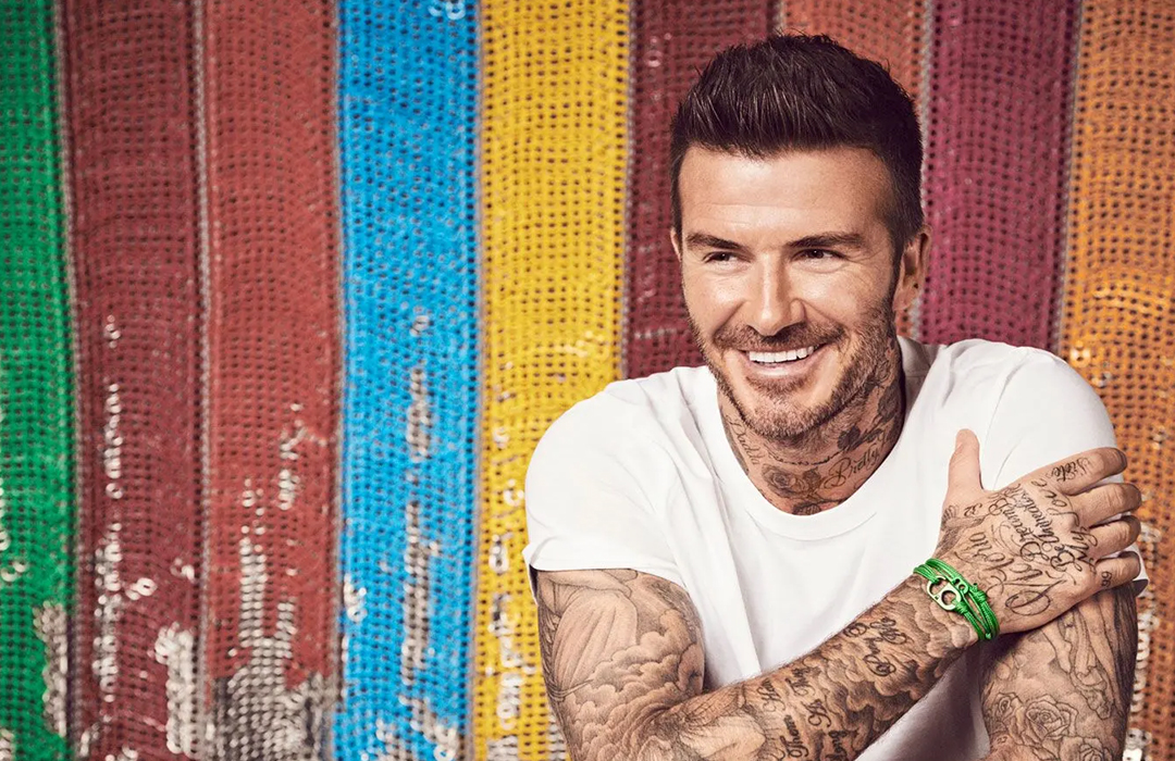 David Beckham: embajador de #TogetherBand