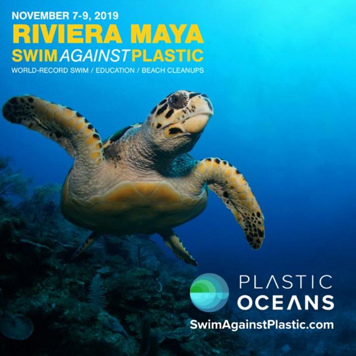 Swim Against Plastic Plastic Oceans México en Wokii