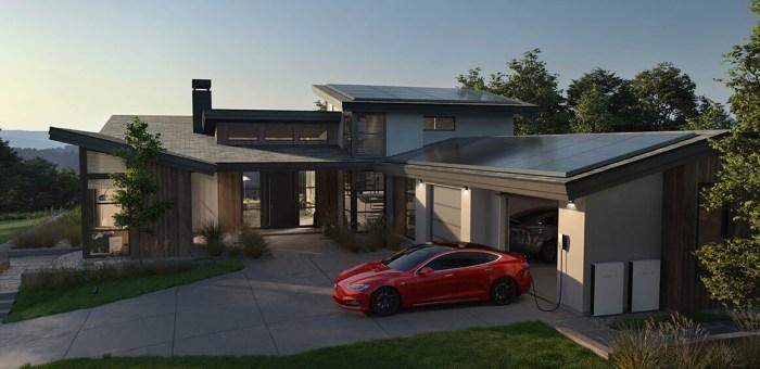 techos solares Tesla en Wokii