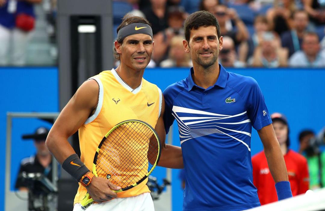 Nadal, Federer y Djokovic buscan crear fondo de ayuda para tenistas