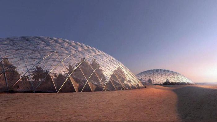Dubái podría tener una colonia marciana