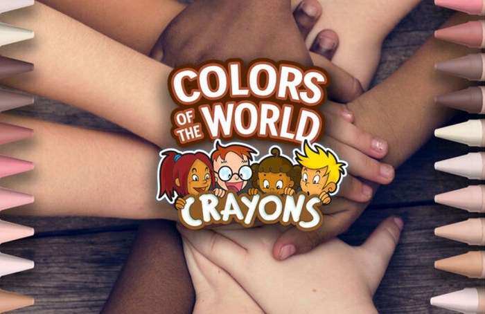 'Colors of the World' los nuevos lápices inclusivos de Crayola