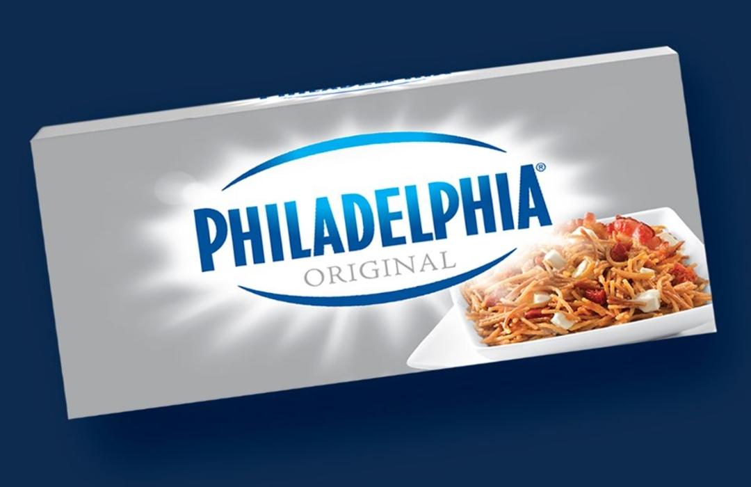 ¡Mondelēz utilizará plástico reciclado en envases de queso Philadelphia!
