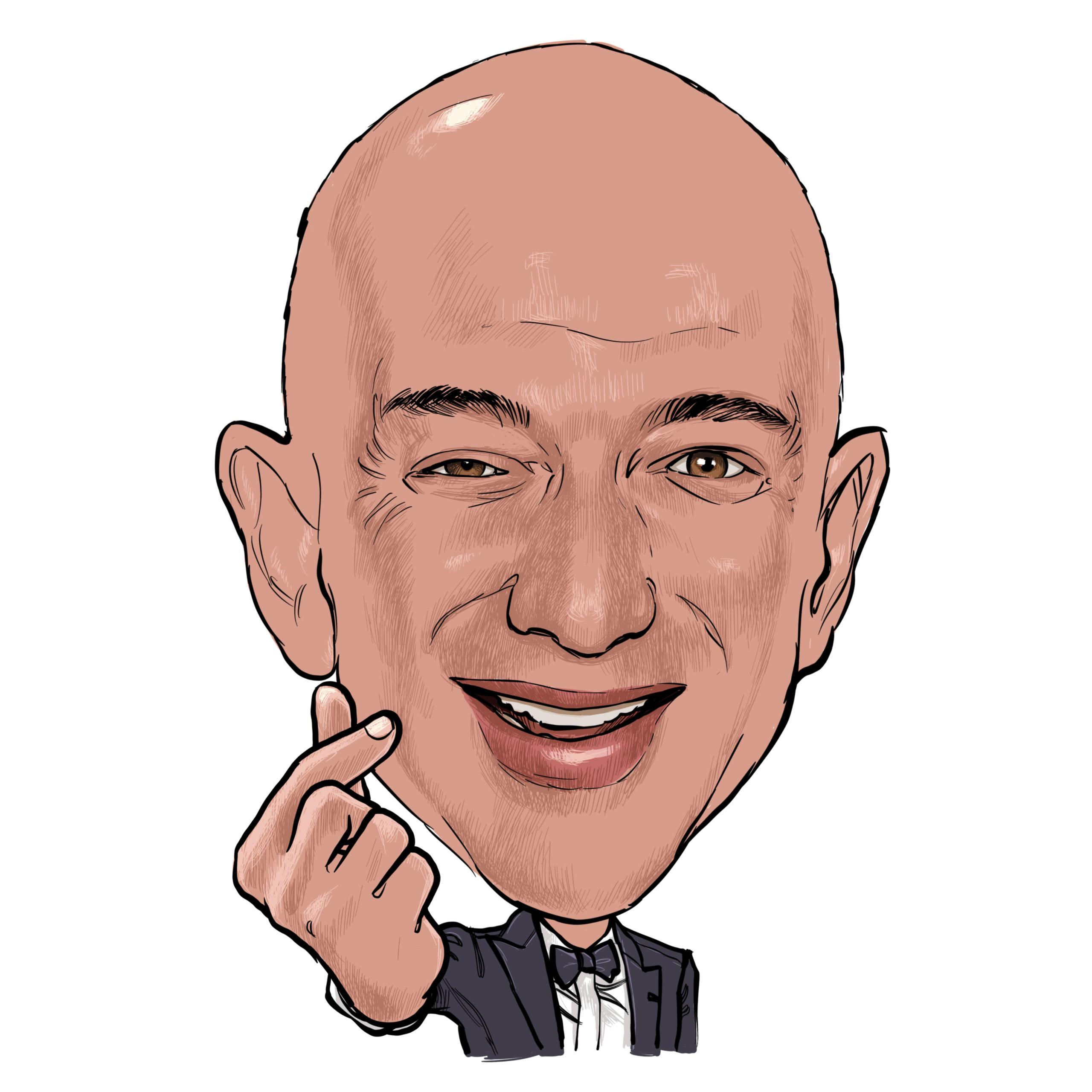 Jeff Bezos, CEO de Amazon, la primera persona con una fortuna de 200,000 mdd