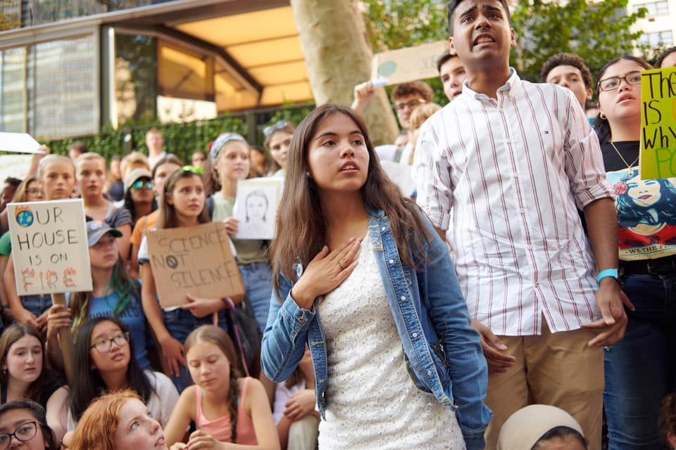 Xiye Bastida, una voz latina contra la crisis climática
