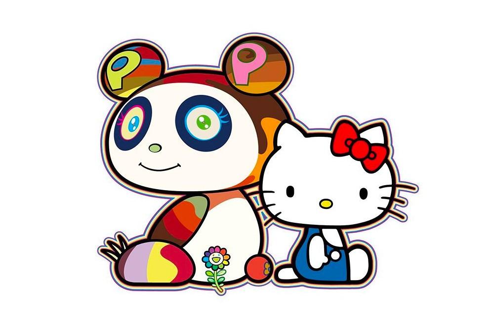 Takashi Murakami, el «Andy Warhol japonés», colabora con Hello Kitty