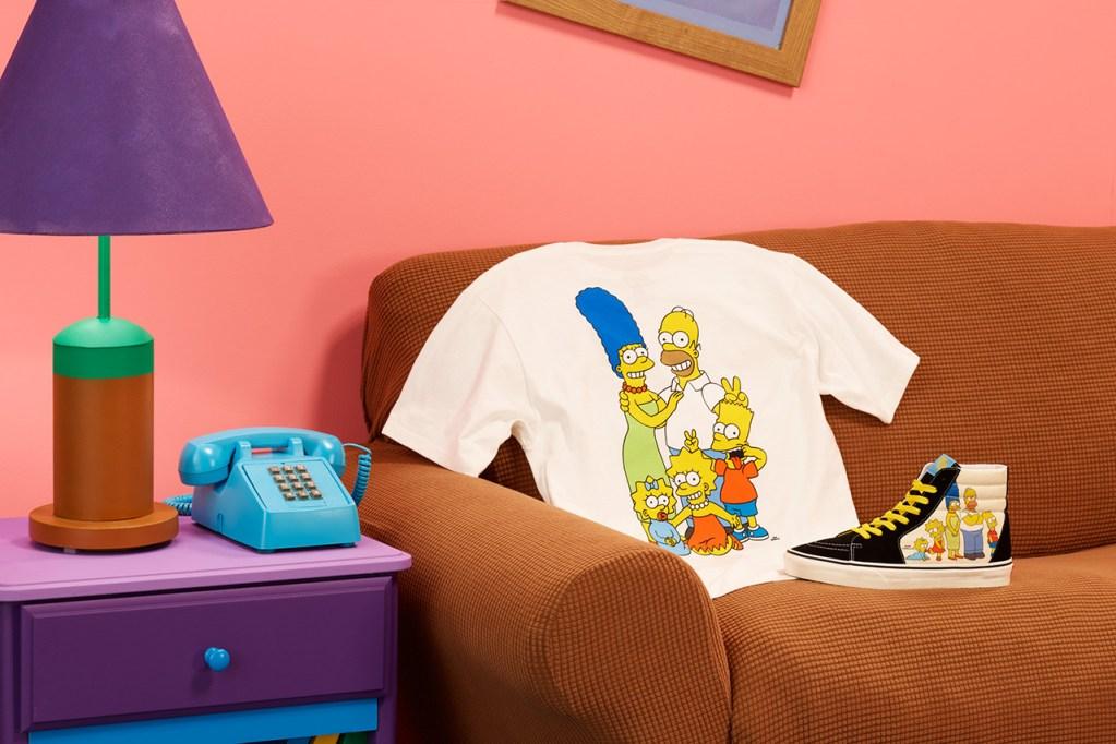 ¿Fan de los Simpson? Tienes que ver esta colección de Vans