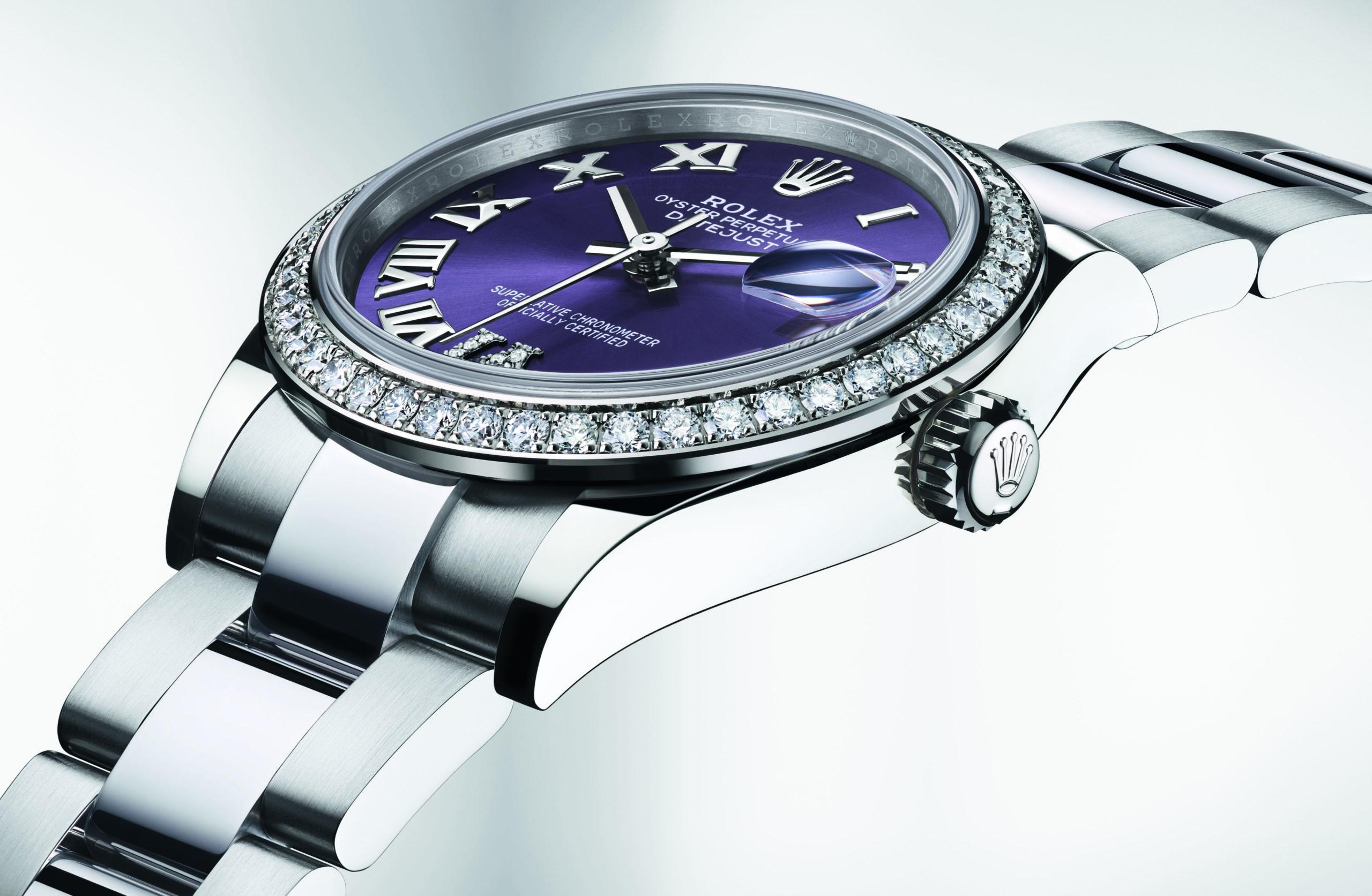 El tiempo a colores es lo que propone Rolex en su más reciente colección