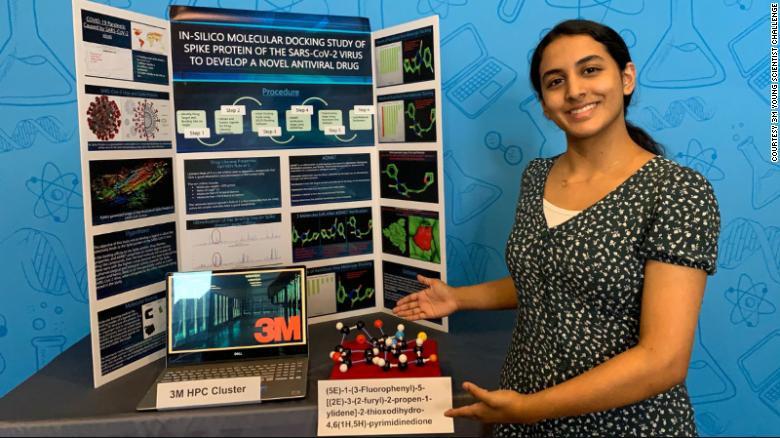 Con solo 14 años, esta joven texana podría haber encontrado la cura contra el COVID-19