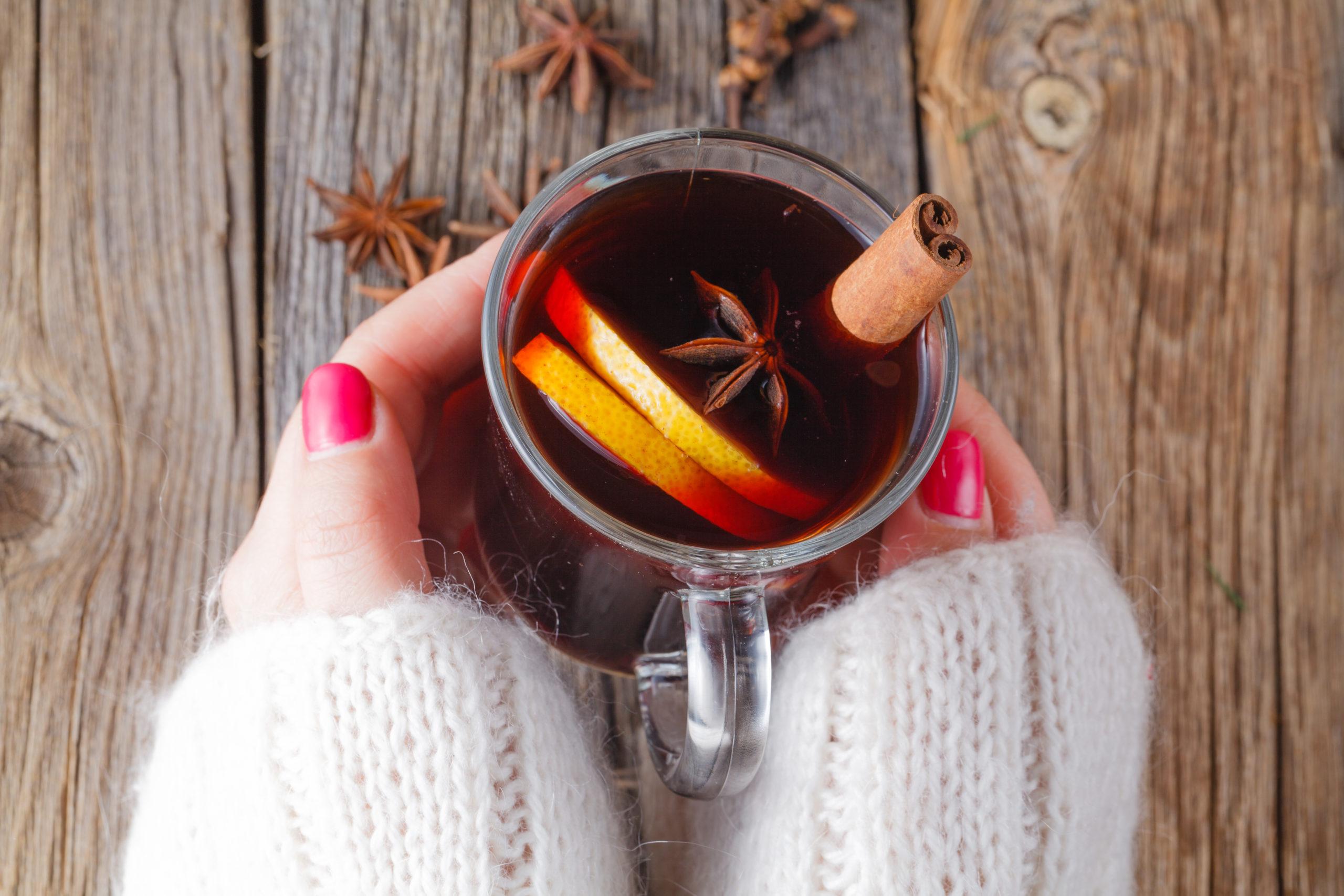 5 bebidas para disfrutar durante una tarde de frío