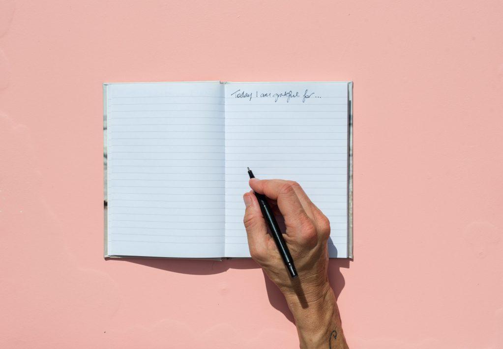 El diario de la gratitud: es momento de iniciar el tuyo