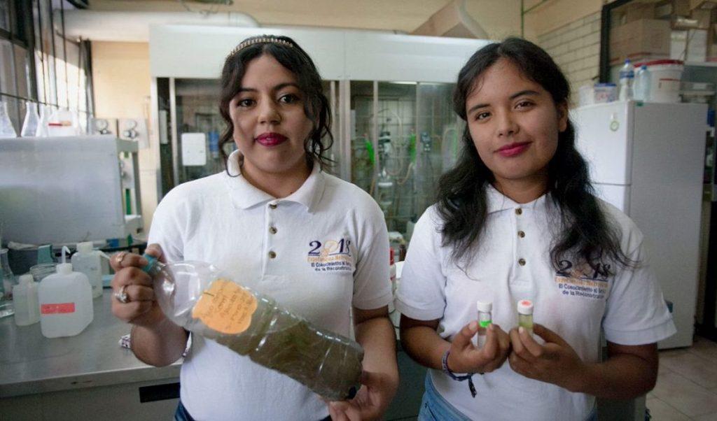 Estudiantes mexicanas logran convertir el agua sucia en combustible limpio