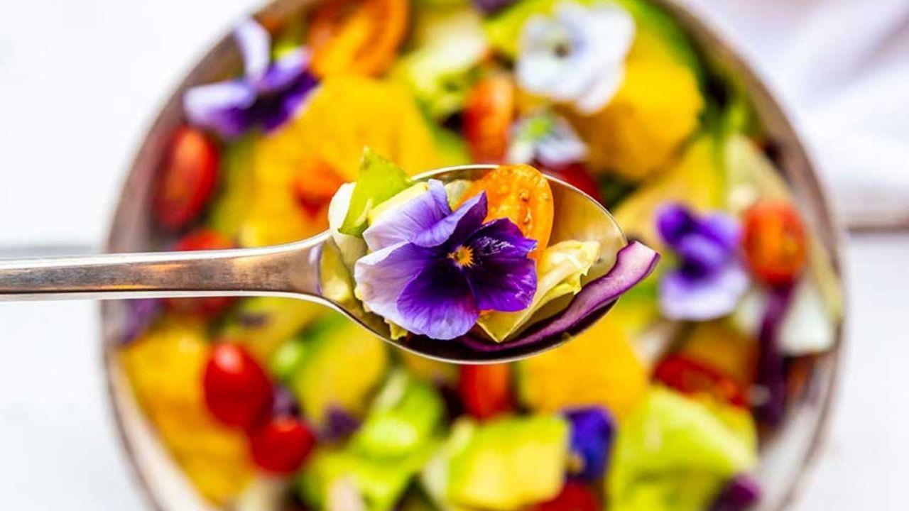 Flores comestibles: de tu jardín al plato