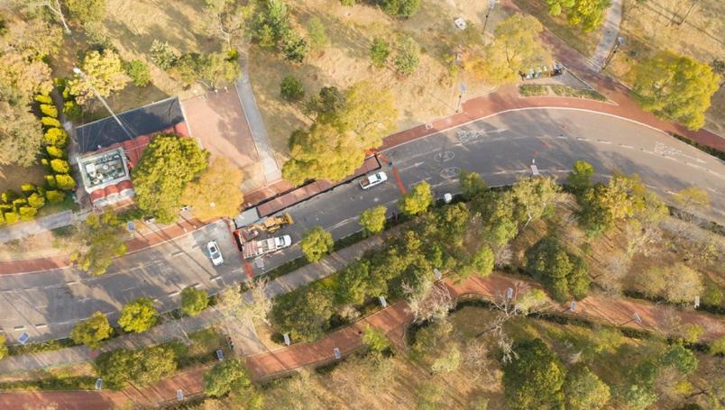 Así es la ciclovía inteligente recién inaugurada en el Bosque de Chapultepec