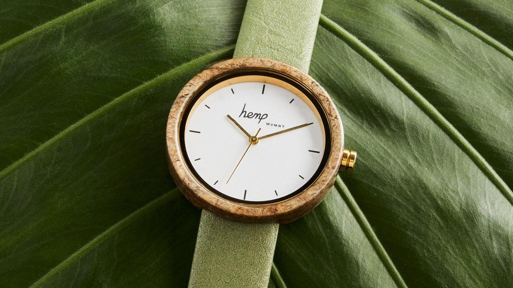 El primer reloj de cáñamo que donará parte de sus ganancias al cuidado del planeta