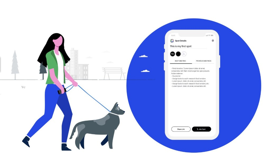 Spot, la plataforma para combatir la fatiga causada por Zoom