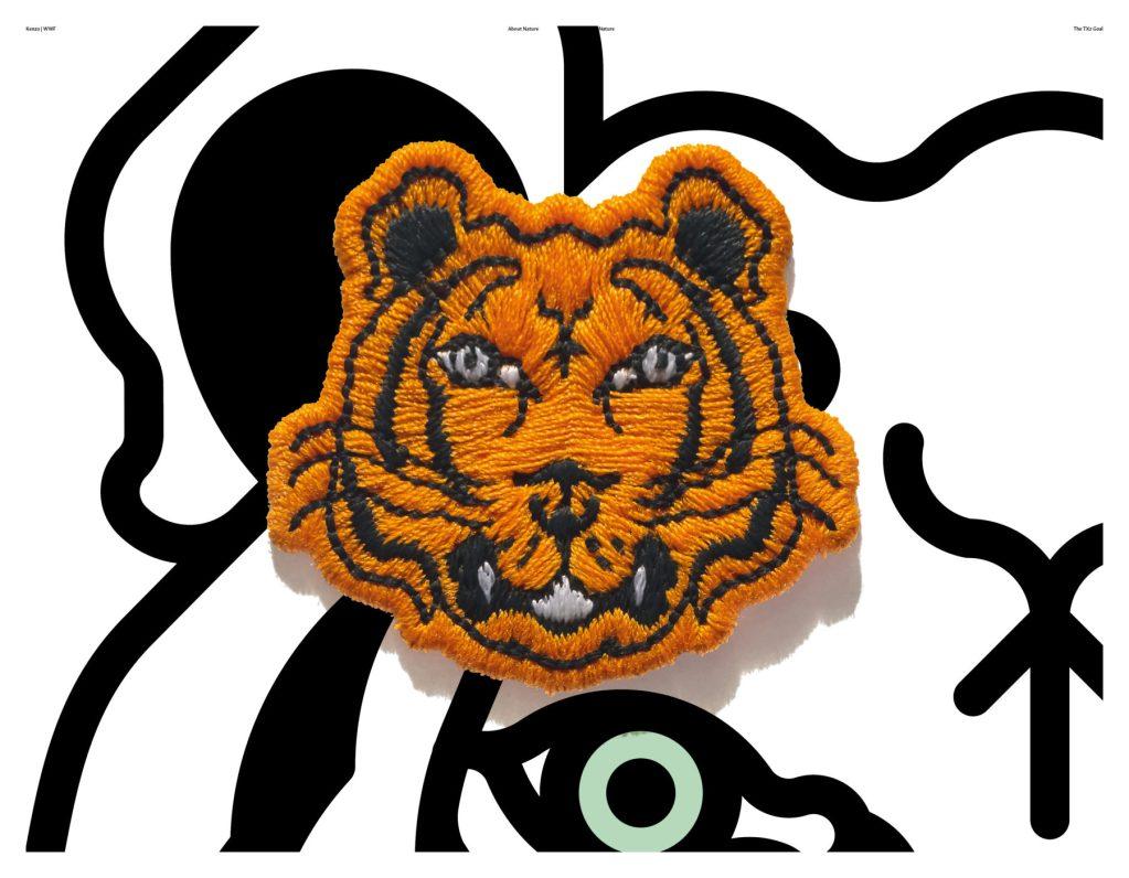 Kenzo lanza colección cápsula en favor de la conservación de los tigres salvajes