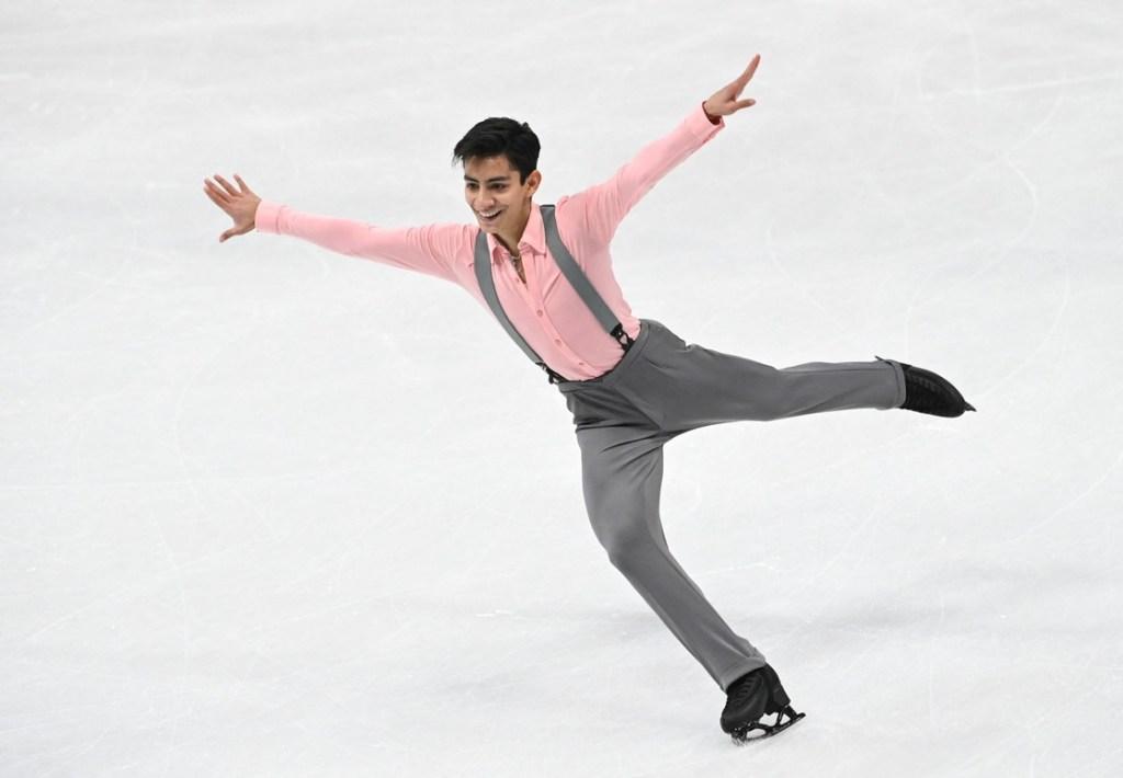 Él es Donovan Carrillo, el patinador mexicano que califica para los Juegos Olímpicos