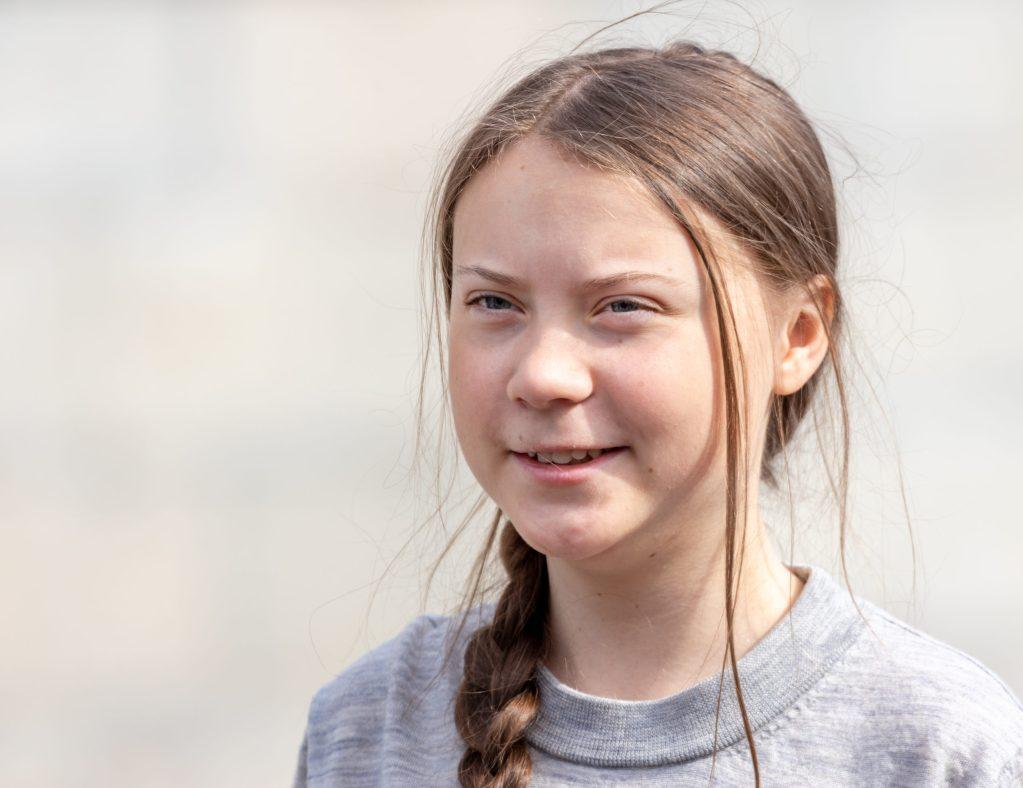Greta Thunberg, la joven activista climática, ya tiene su propia estatua
