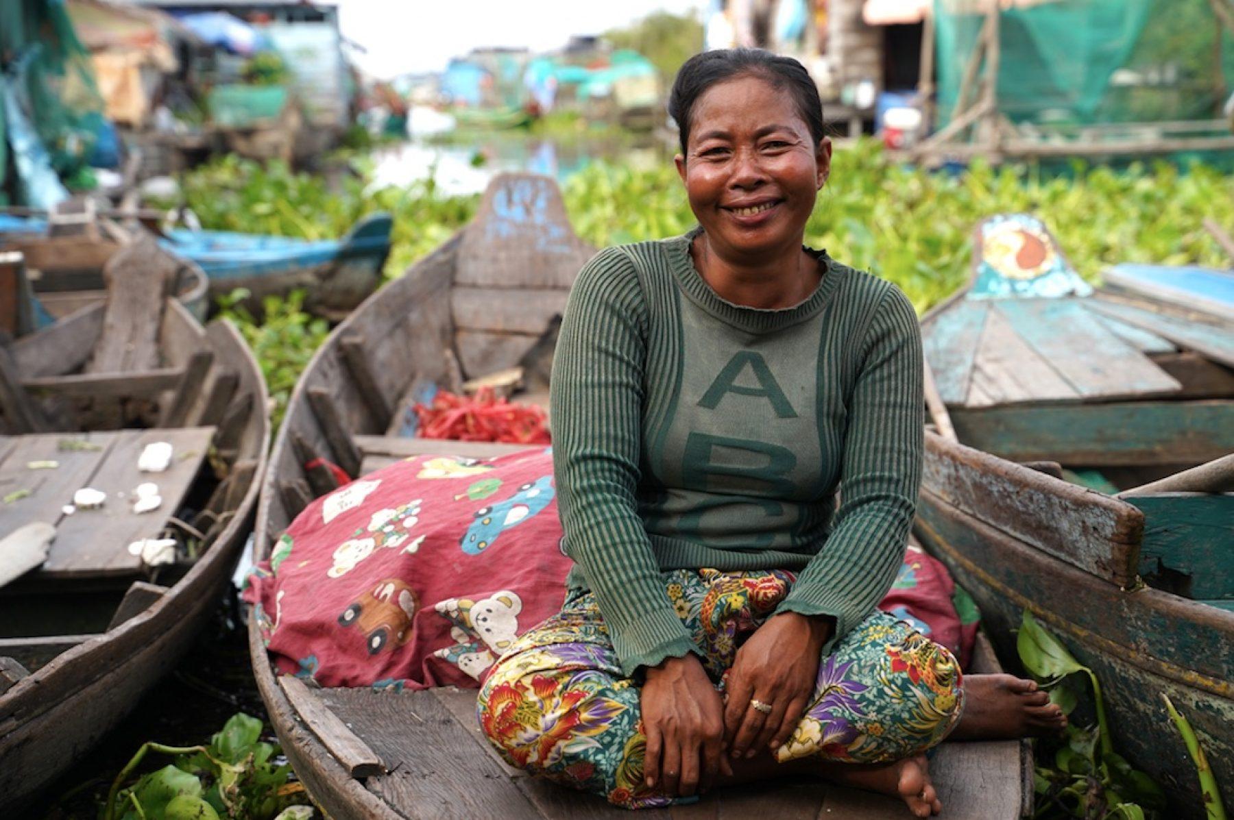 Camboya enfrenta su peor crisis ante el cambio climático, pero las mujeres pueden ser la solución