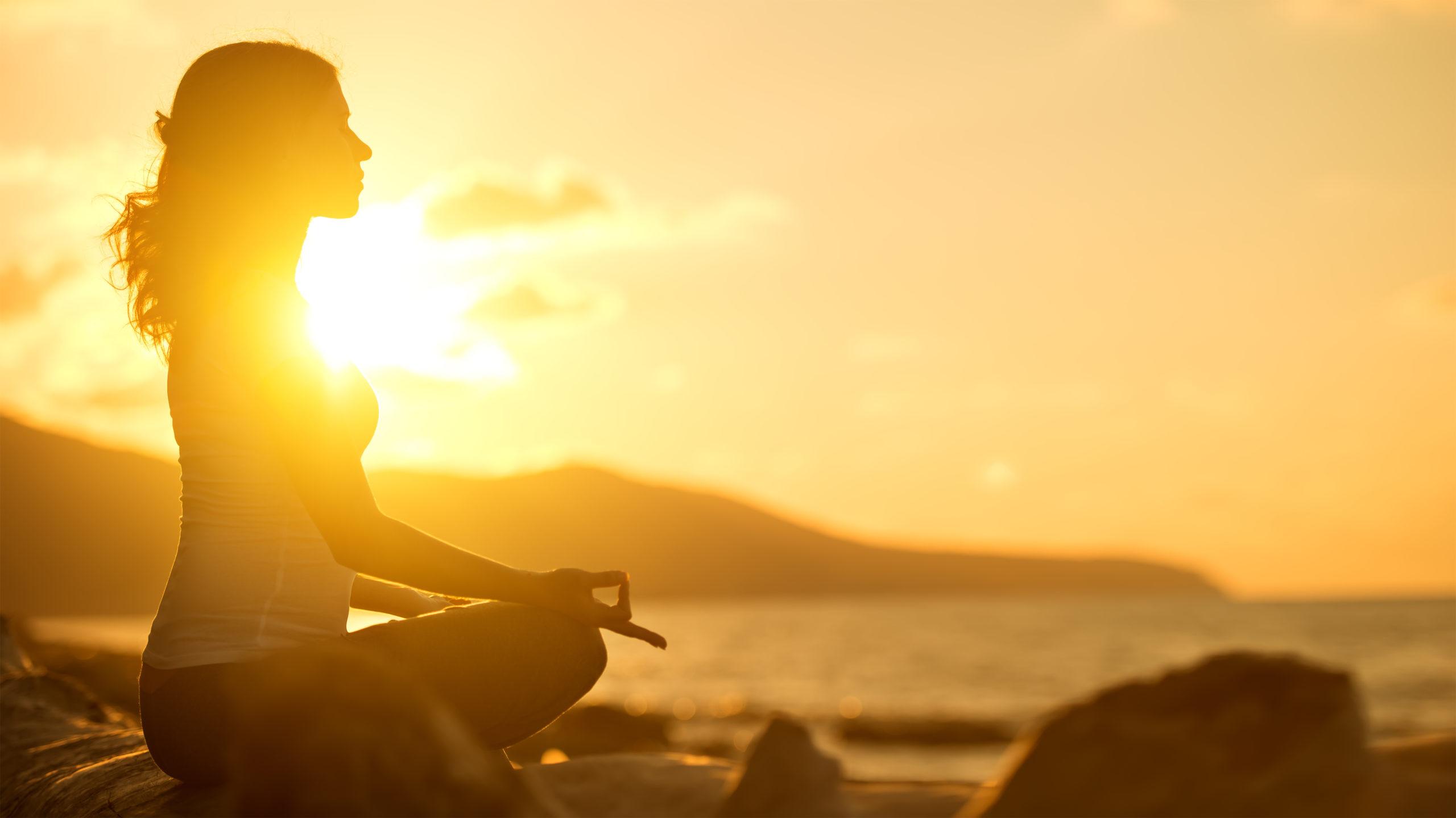 Así es como la meditación puede influir en nuestra piel