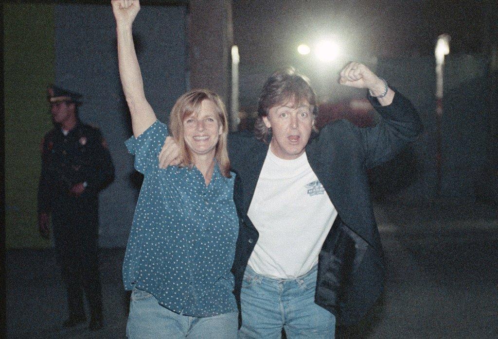 Linda y Paul McCartney en sus buenos tiempos
