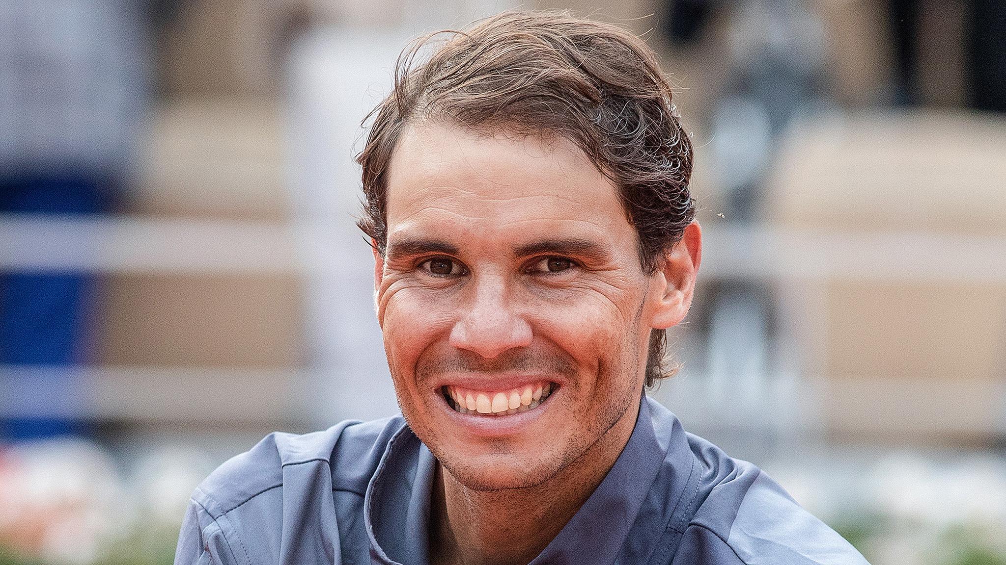 Rafael Nadal nos muestra su lado más altruista