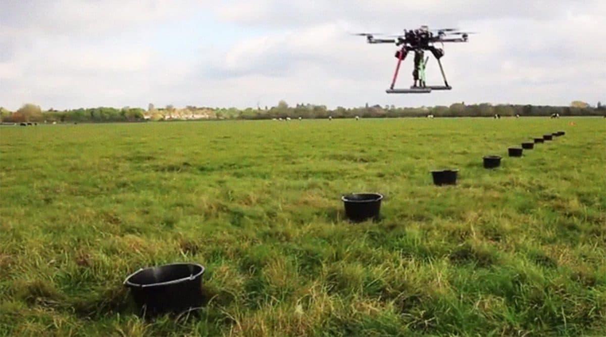 Estos drones plantan ¡100,000 árboles por hora!