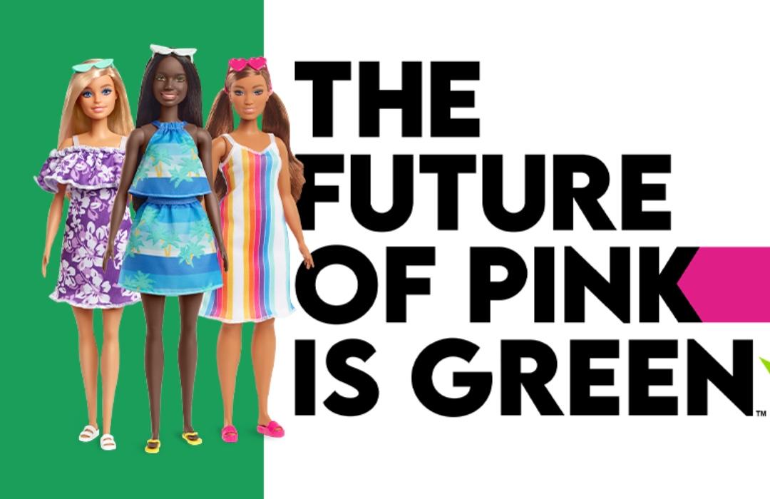 ¿Muñecas ecológicas? Mattel lanza una Barbie hecha con plástico reciclado