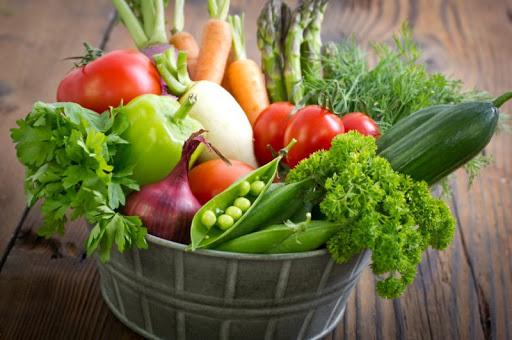 alimentación sana en el verano