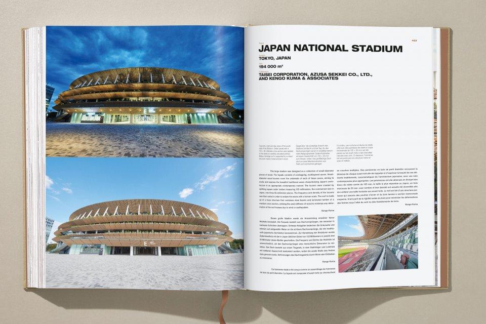 Publican libro de Kengo Kuma, arquitecto del estadio olímpico de Tokio