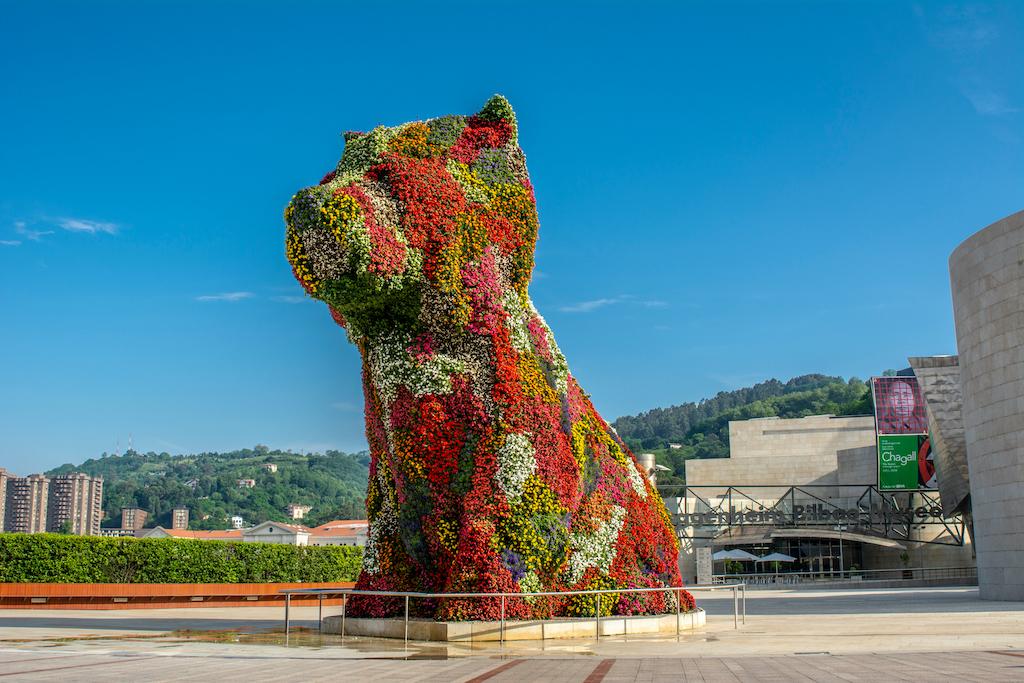 Puppy: el cachorro gigante del museo Guggenheim ¡solicita de nuestra ayuda!