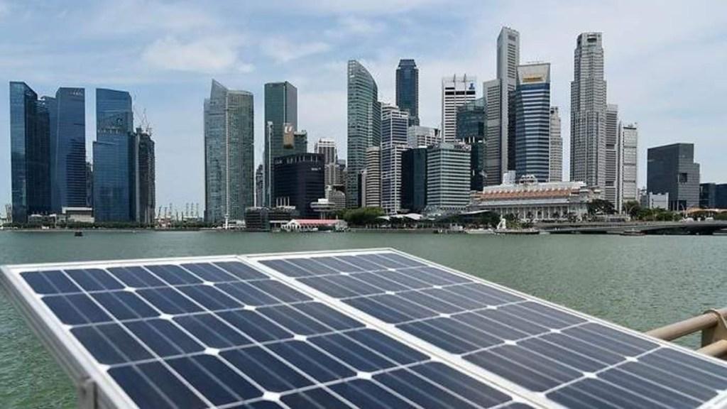 Singapur tendrá el parque de paneles solares flotantes más grande del planeta