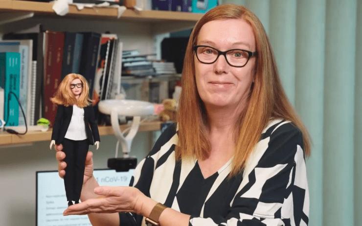 Crean Barbie inspirada en la creadora de la vacuna de AstraZeneca