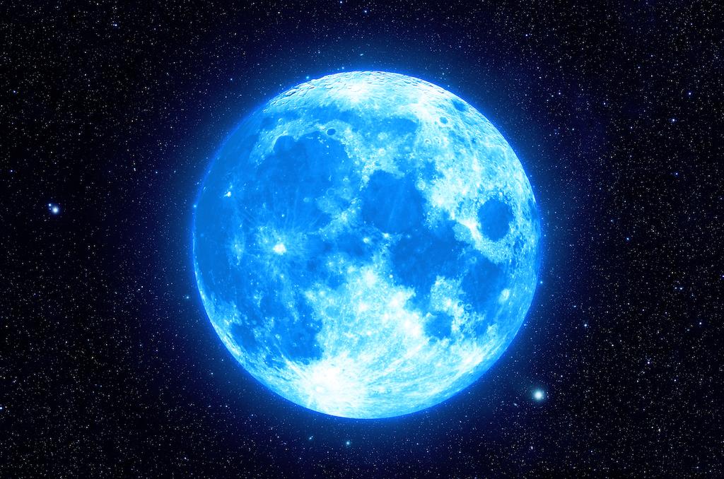Este mes tendremos Luna azul, ¡entérate cuándo y dónde verla!